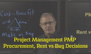 PMP Procurement, Rent vs Buy Decisions video image