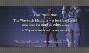 The Wayback Machine – A look backward and then forward at scheduling video image