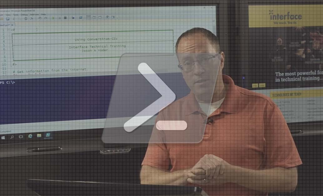Using ConvertFrom PowerShell Cmdlet to import CSV files with Jason Yoder video image
