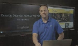 Exposing Data with ASP.NET Web API by Dan Wahlin video image