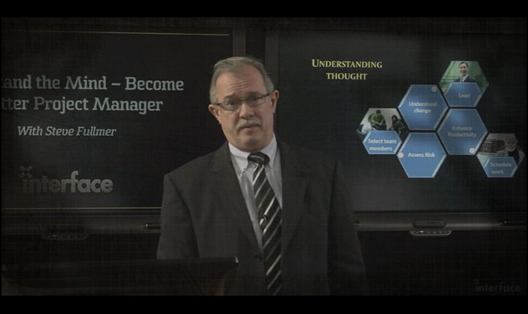 Understand the Mind – Become a Better Project Manager PMP seminar video image Steve Fullmer