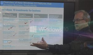 Windows 10 Features and Navigation video image Steve Fullmer Interface Technical Training