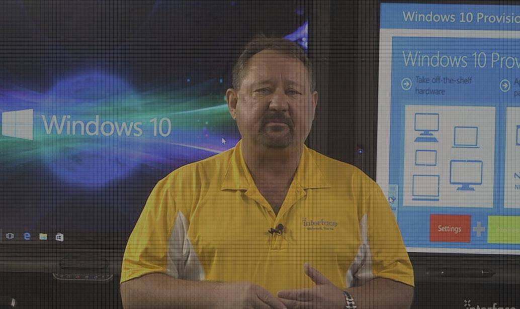 Windows 10 Managing, Deploying and Configuring video image Rick Trader Interface Technical Training