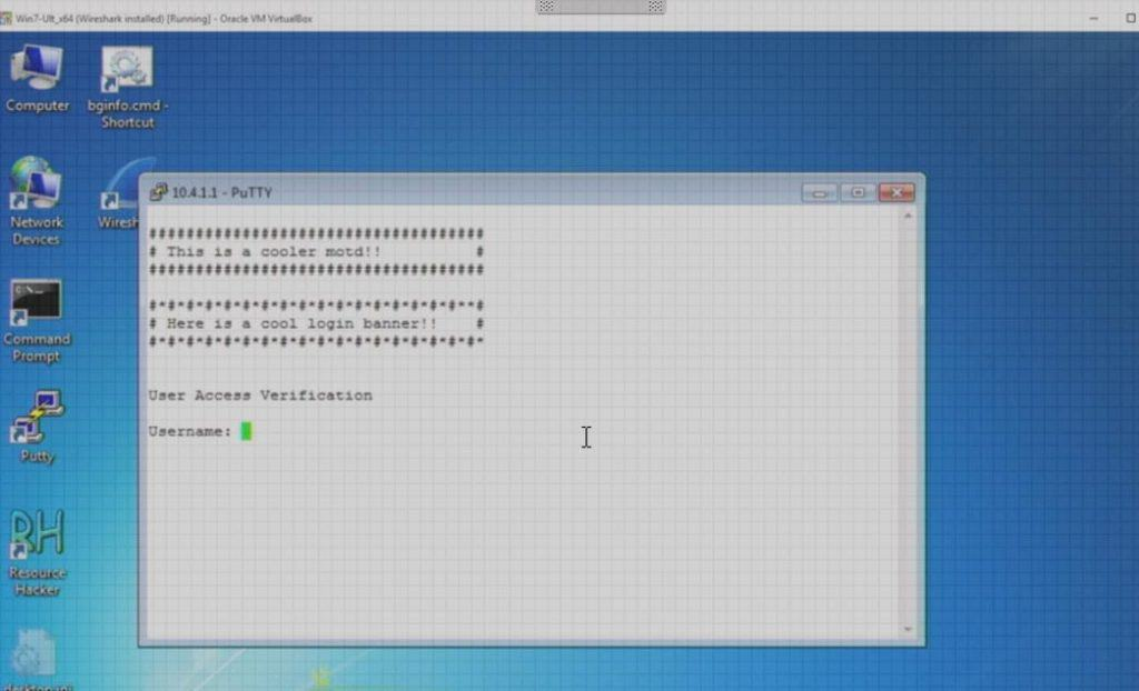 How to create a Cisco IOS Banner – Login and MOTD Message of