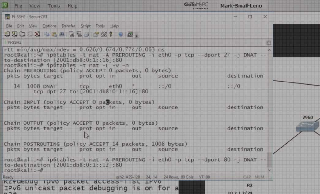IPv6 Port Redictions video image