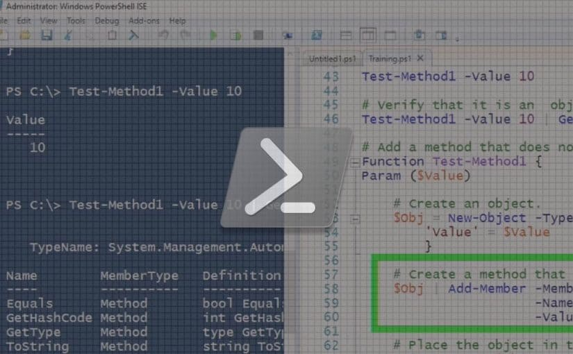How to Build in a PSMethod to your PowerShell Code video image