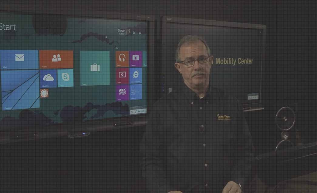 Configuring Windows Mobility Center video image