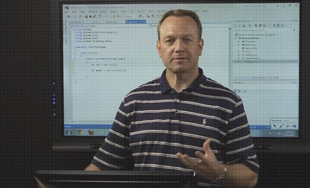 Understanding C# Interfaces and Polymorphic Behavior by Dan Wahlin video image