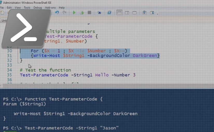 Building Dynamic Parameters into your PowerShell Code video image