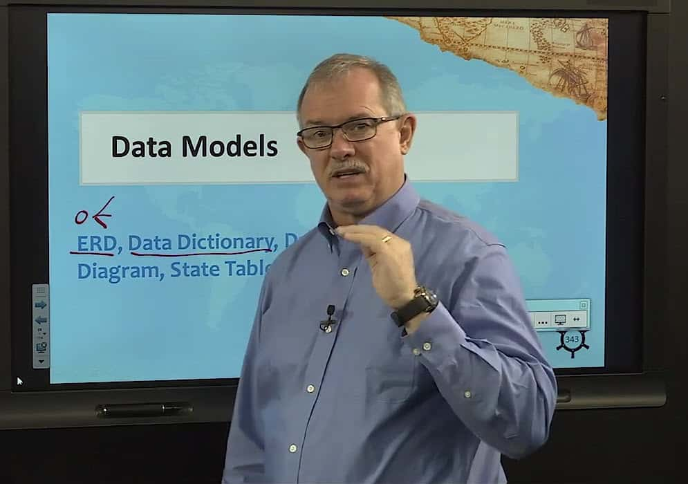 Data Models in PMI-PBA Steve Fullmer video image