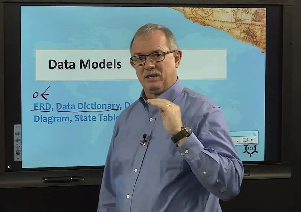 Data Models in PMI-PBA Steve Fullmer video image